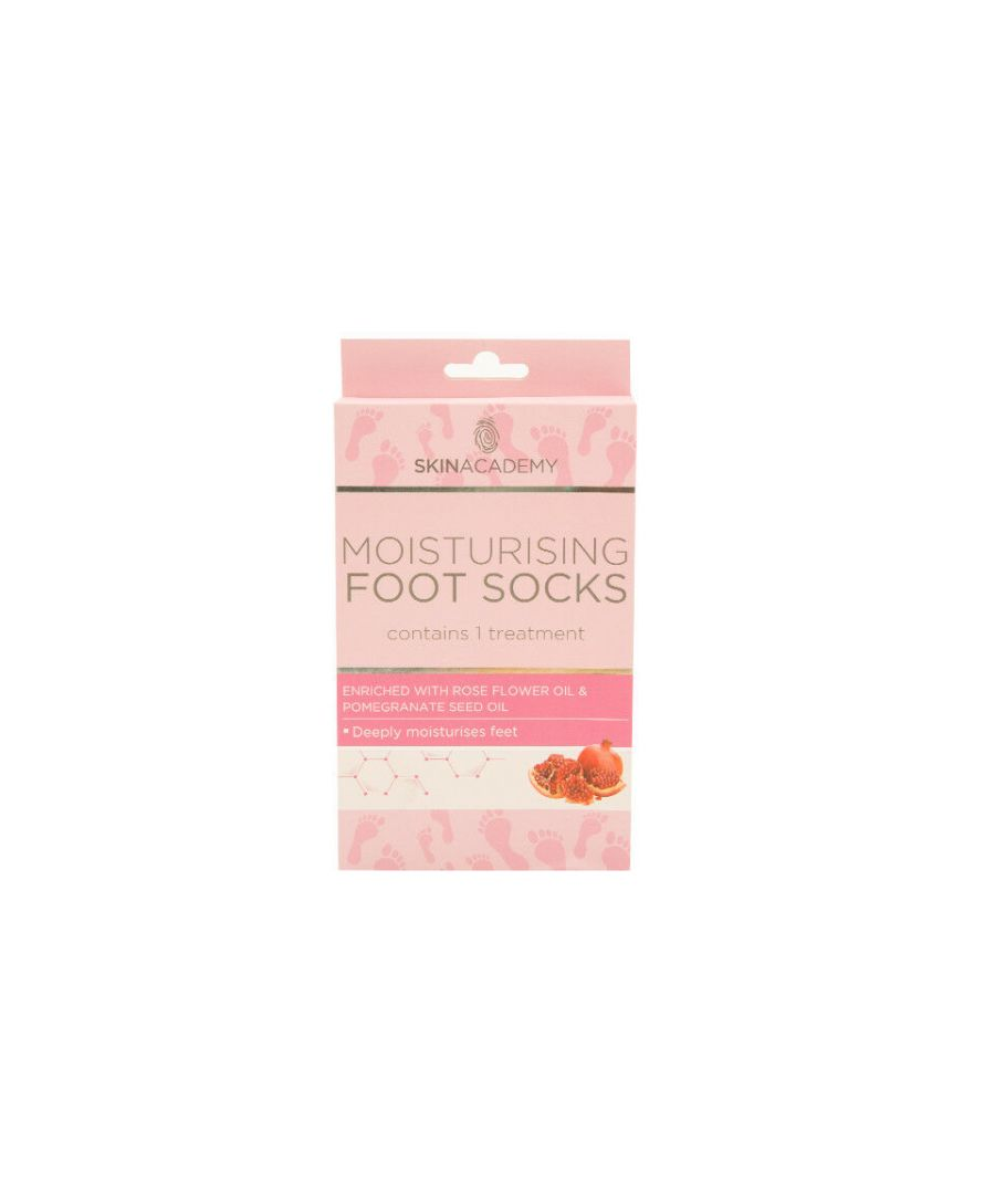 Image for Moisturising Foot Socks Pedicure SPA Dry Heels Smoothing Foot Care - Pack of 2