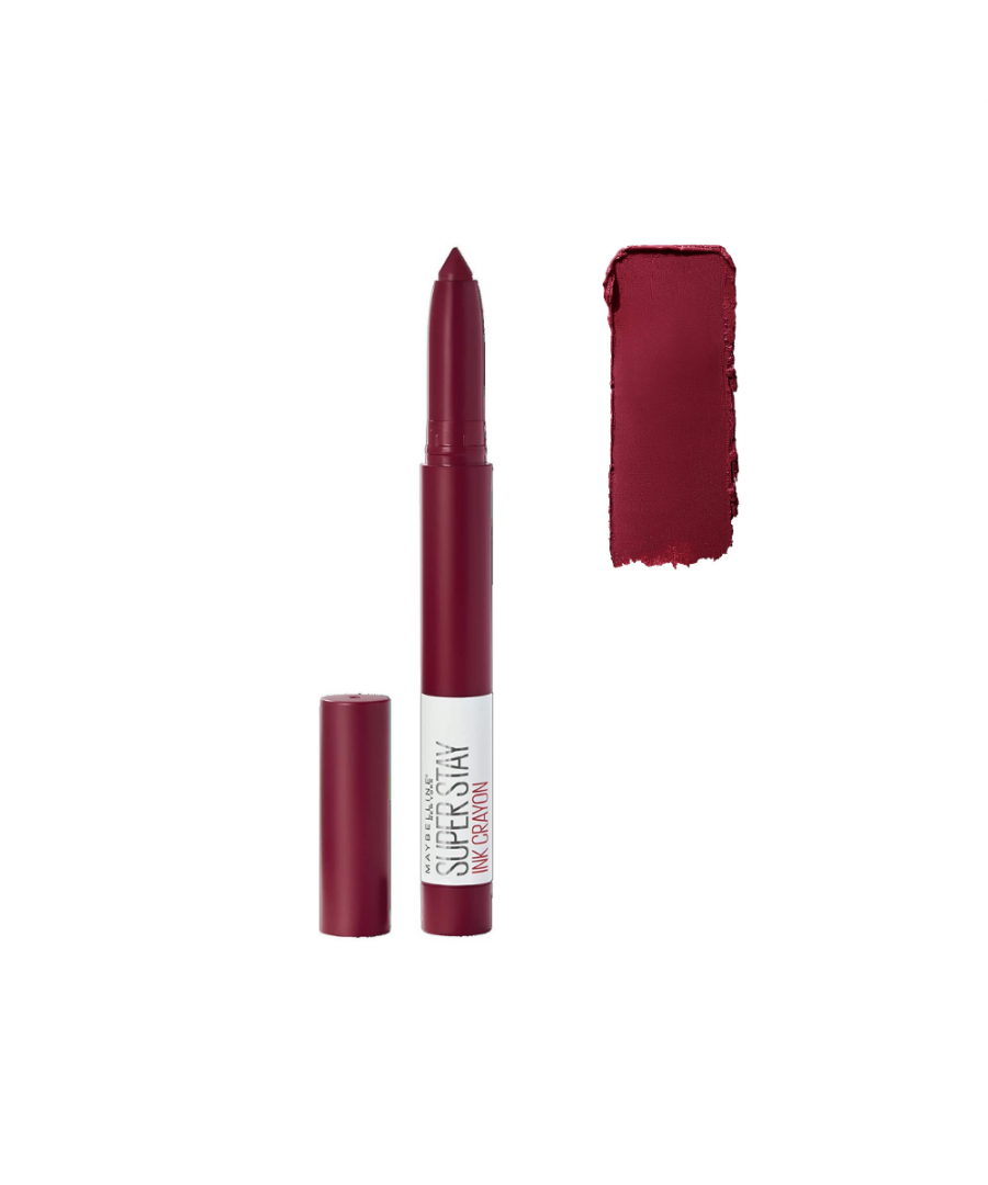 Image for Maybelline New York Superstay Ink Crayon - 55 Make It Happen