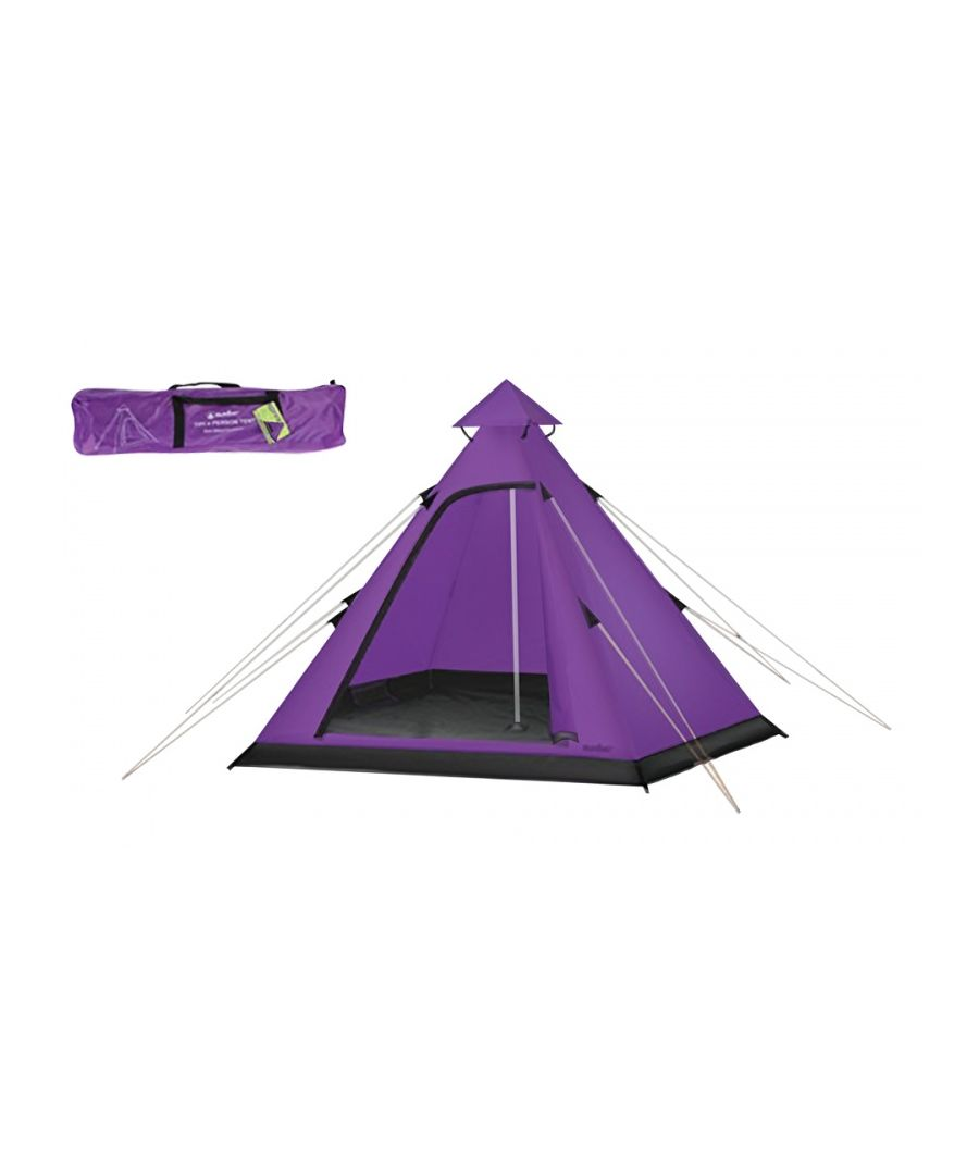 Image for Summit Hydrahalt 4 Person Tipi Tent - Purple