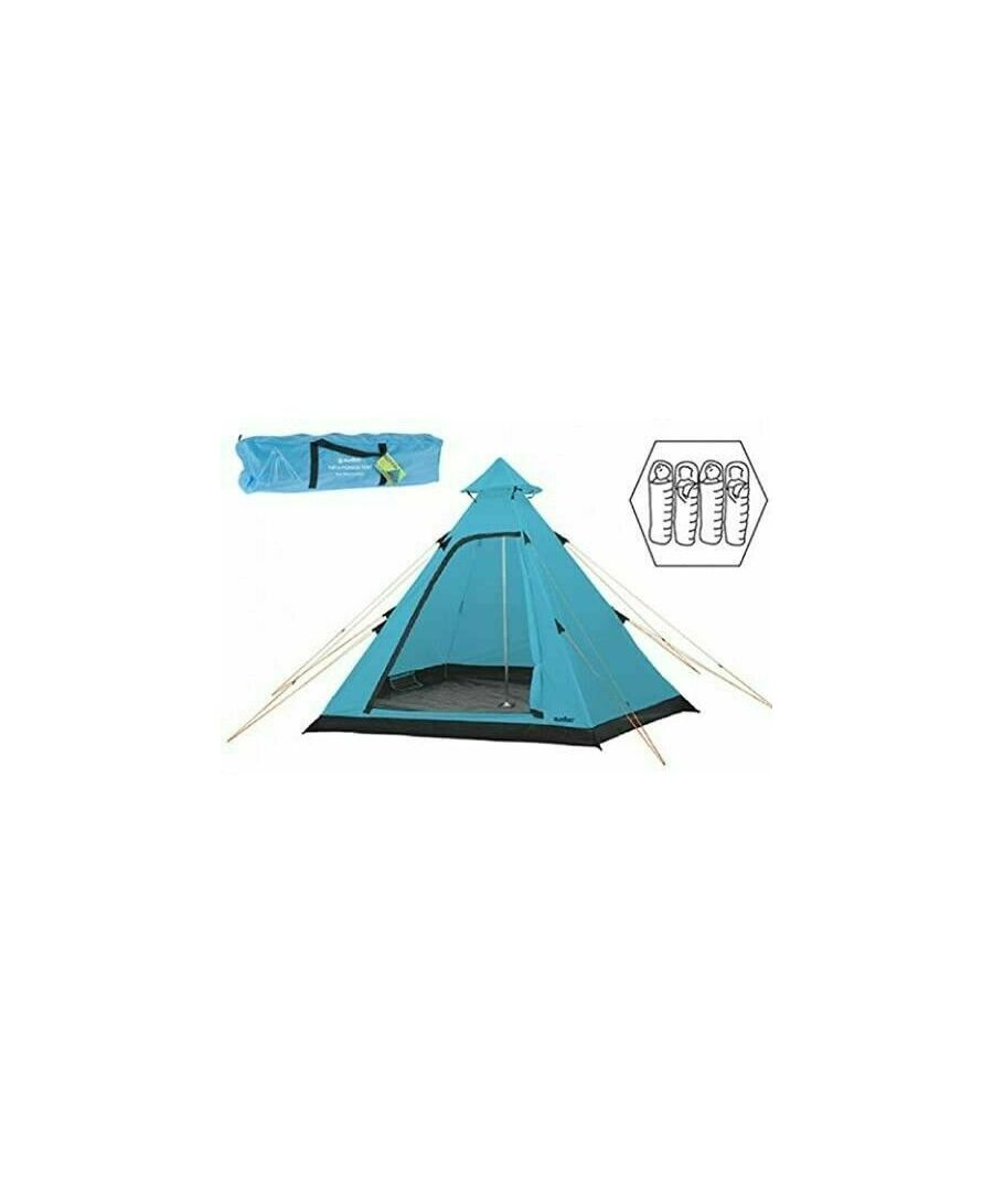Image for Summit Hydrahalt 4 Person Tipi Tent - Blue