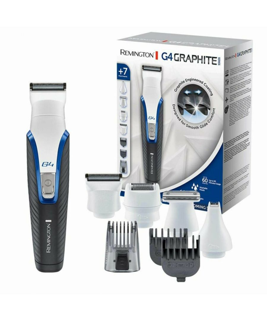 Image for Remington PG4000 Graphite G4 Cordless Shaver, Nose, Eyebrow & Ear hair Trimmer