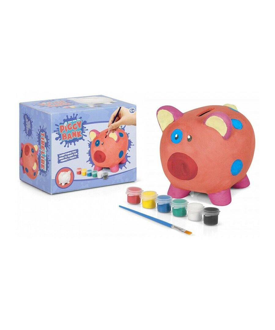 Image for Tobar Paint Your Own Ceramin Piggy Bank/Money Box