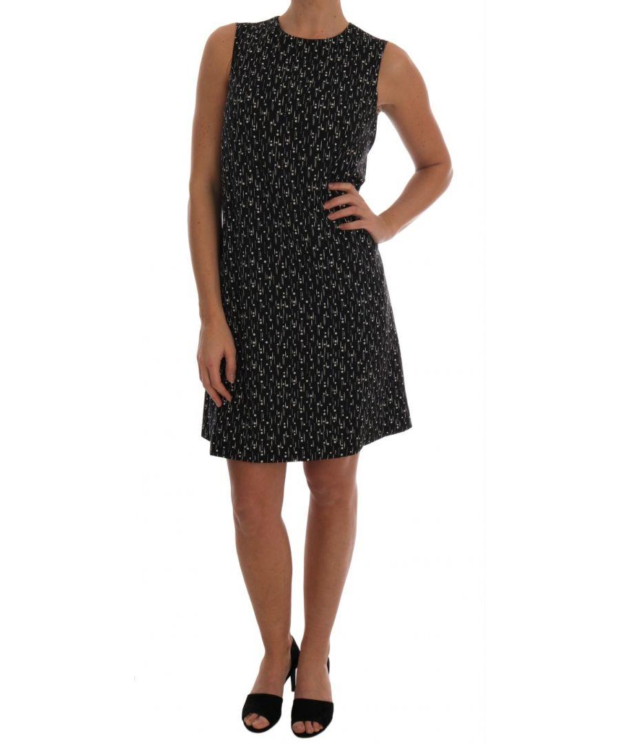Image for Dolce & Gabbana Black Wool Above Knee Dress