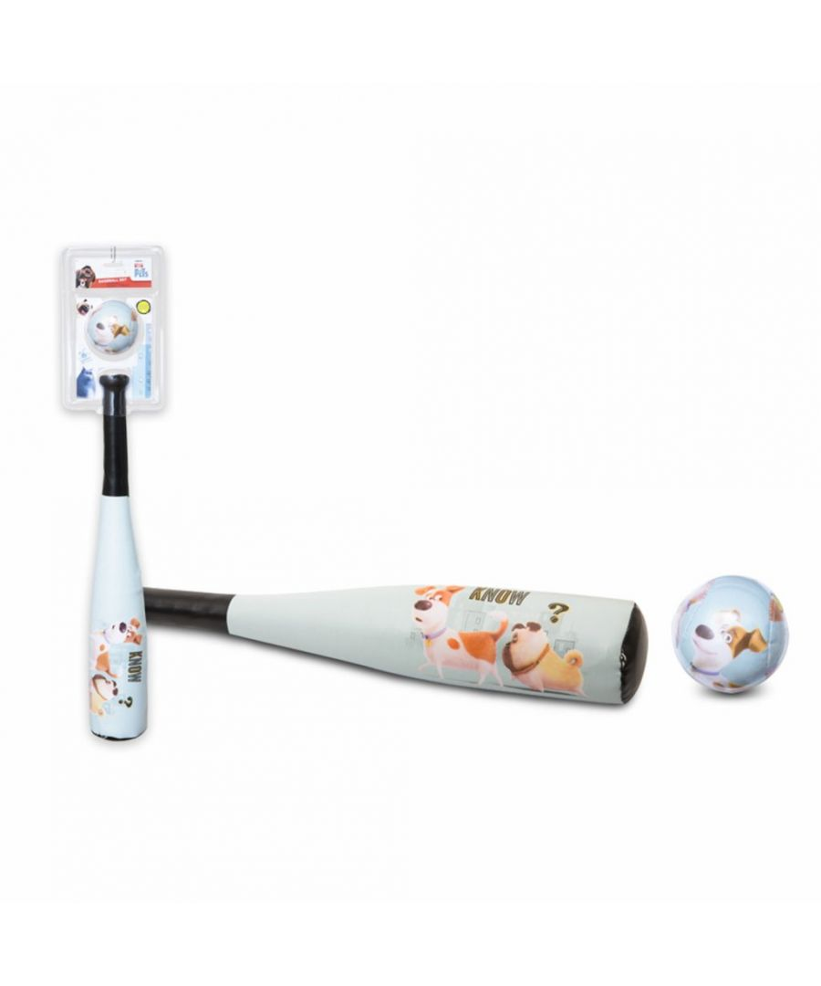 Image for Secret Life of Pets Soft Baseball Bat & Ball Set