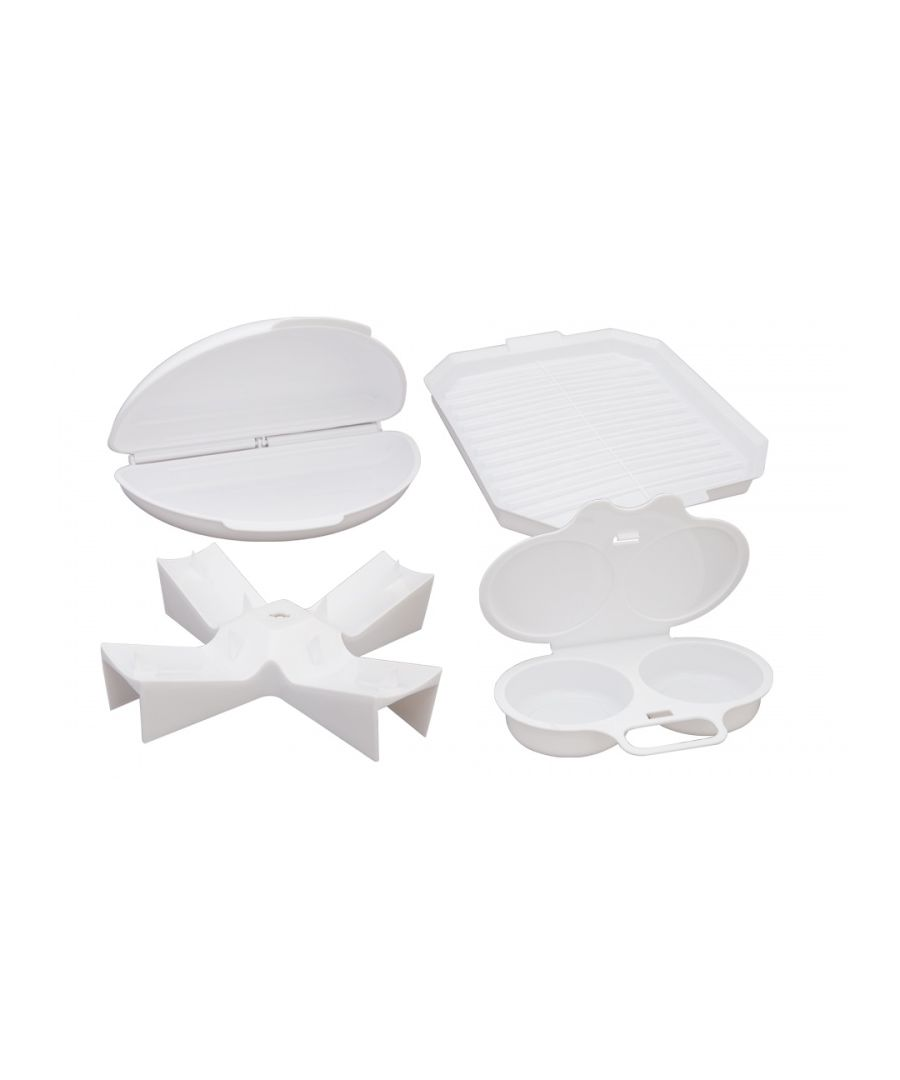Image for Four Piece Microwave Cooking Set