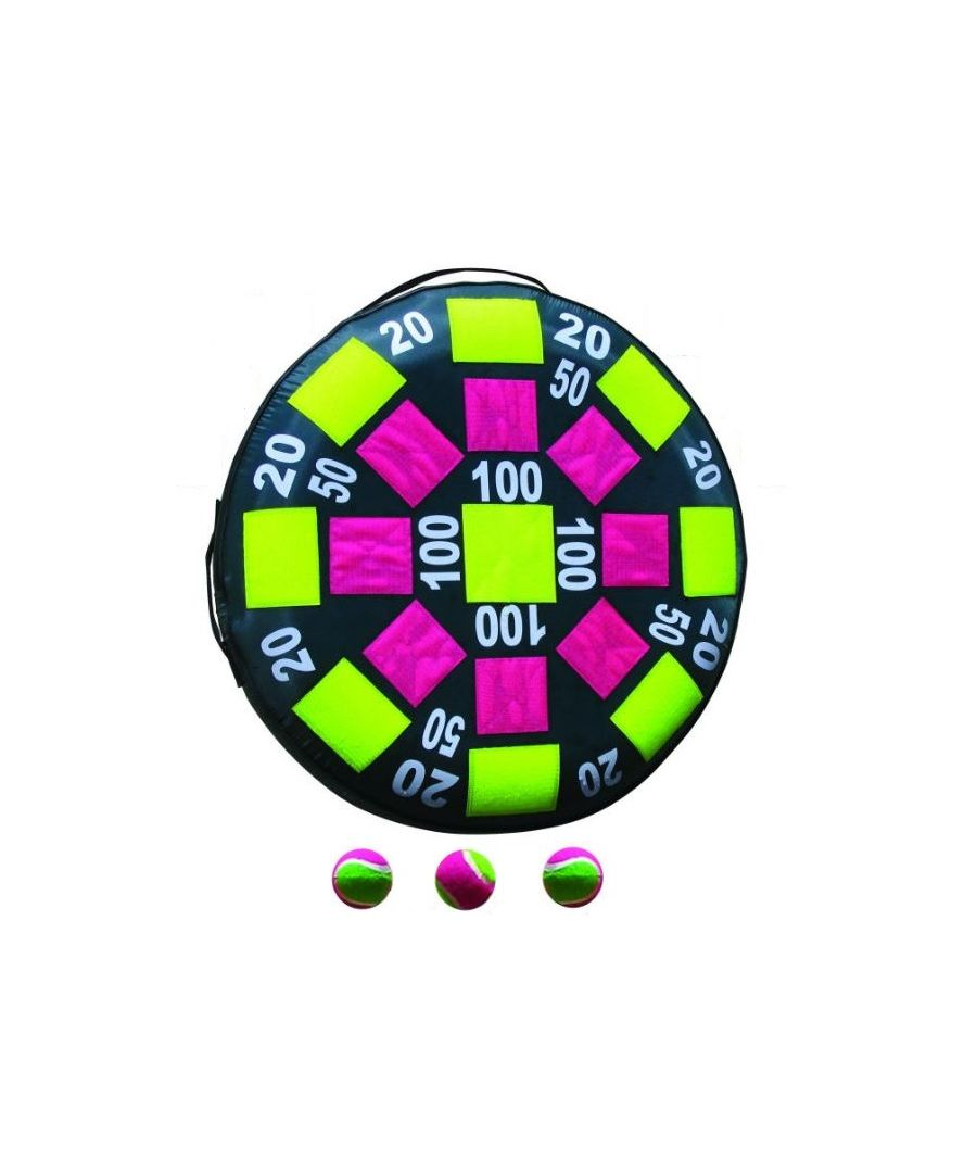 Image for Inflatable Velcro 50cm Target With 3 Velcro Tennis Balls Set