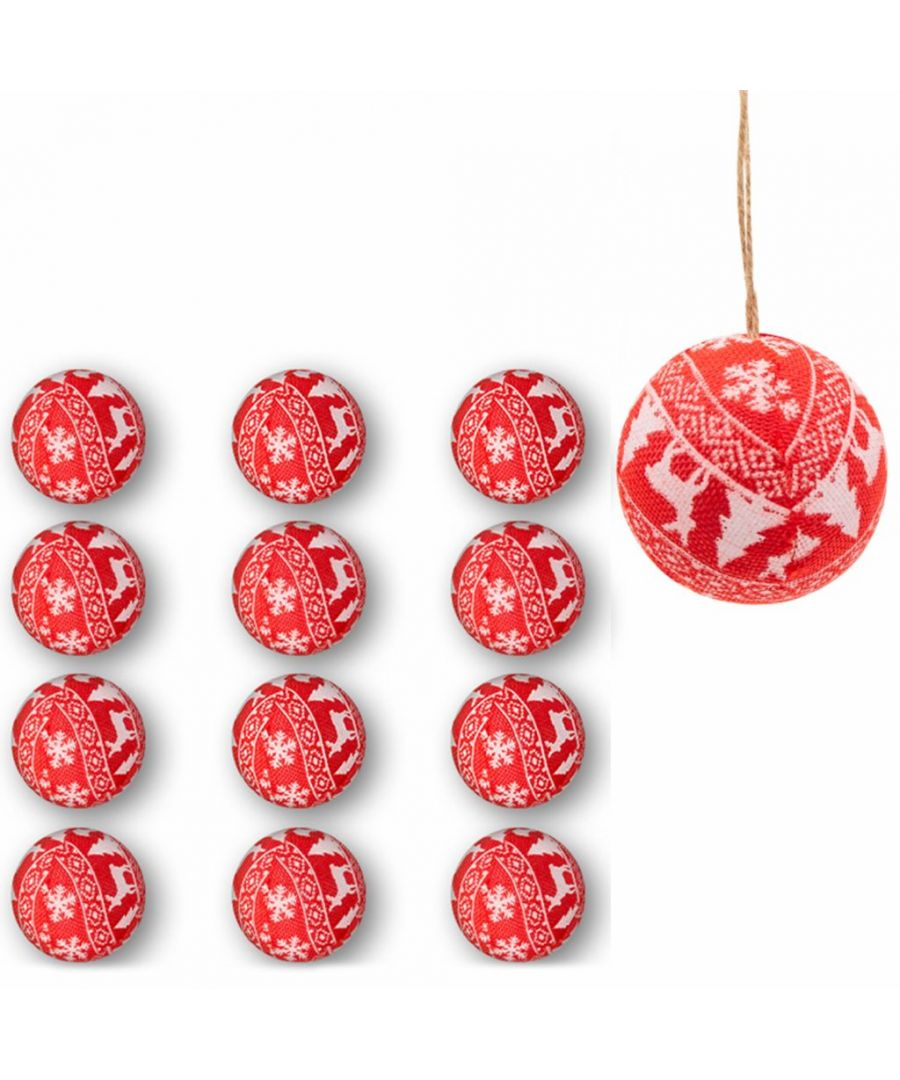 Image for Nordic Baubles Set of 12