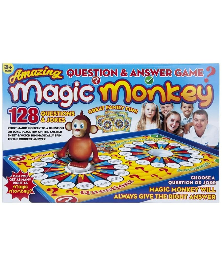 Image for Magic Monkey Question and Answer Game