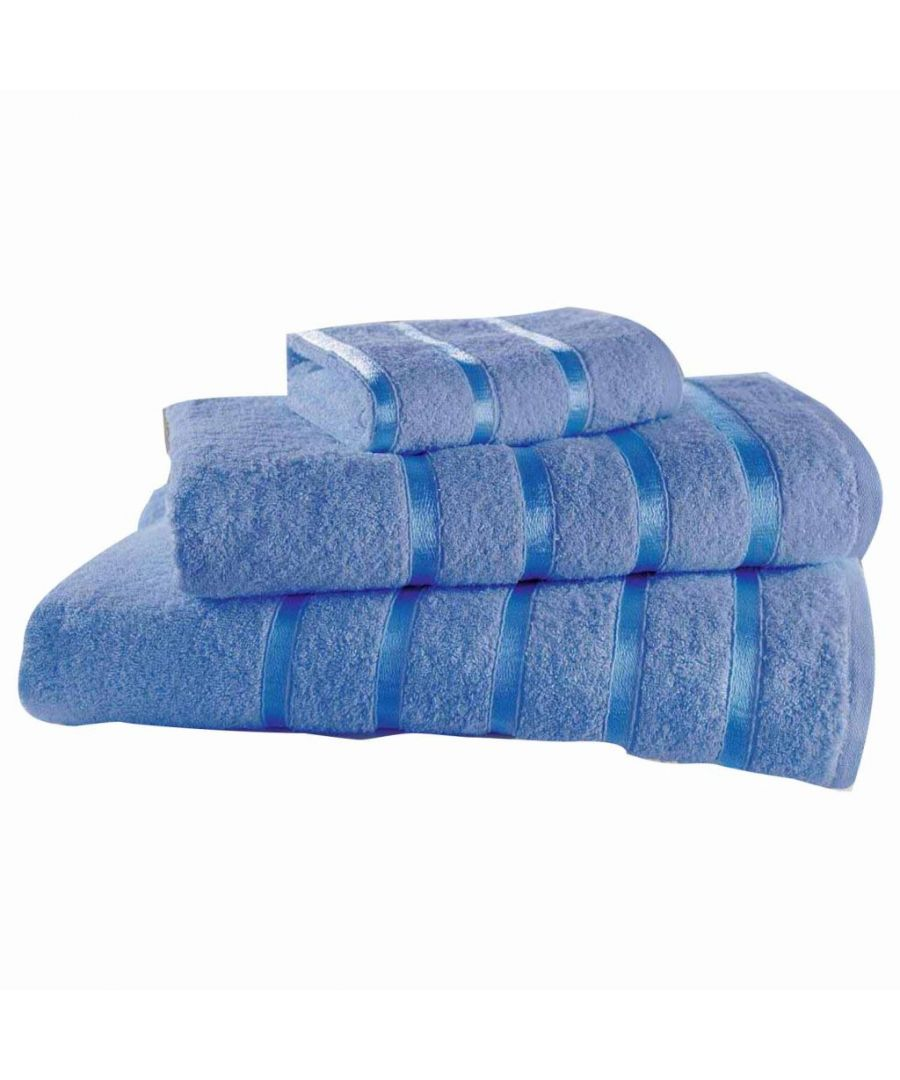 Image for Egyptian Cotton Bath Towel Blue