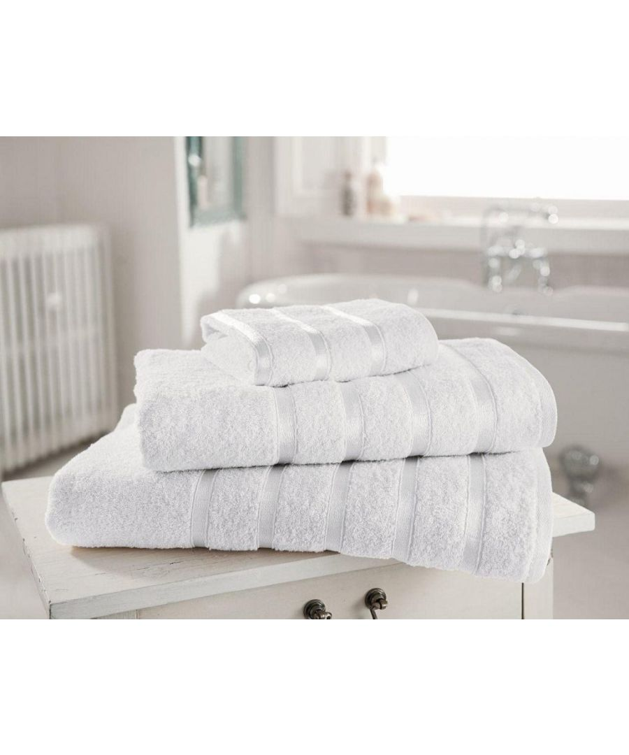 Image for Egyptian Cotton Bath Towel White