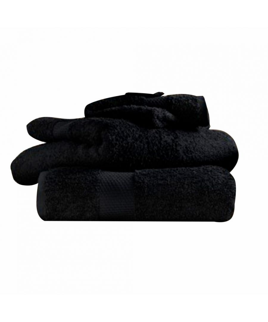 Image for Egyptian Cotton Bath Towel Black