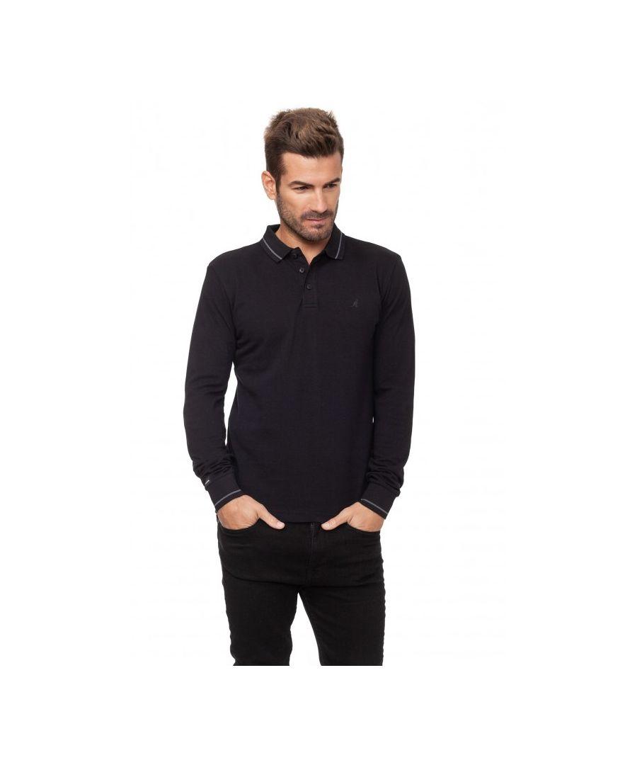 Image for Dent Long Sleeve Polo Shirt
