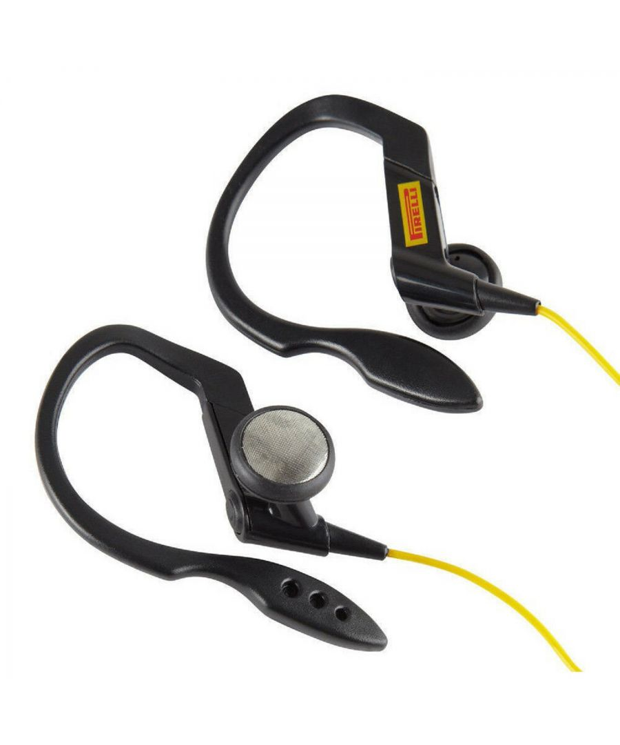 Image for Pirelli Zero In-Ear Sports Headphones Black / Yellow