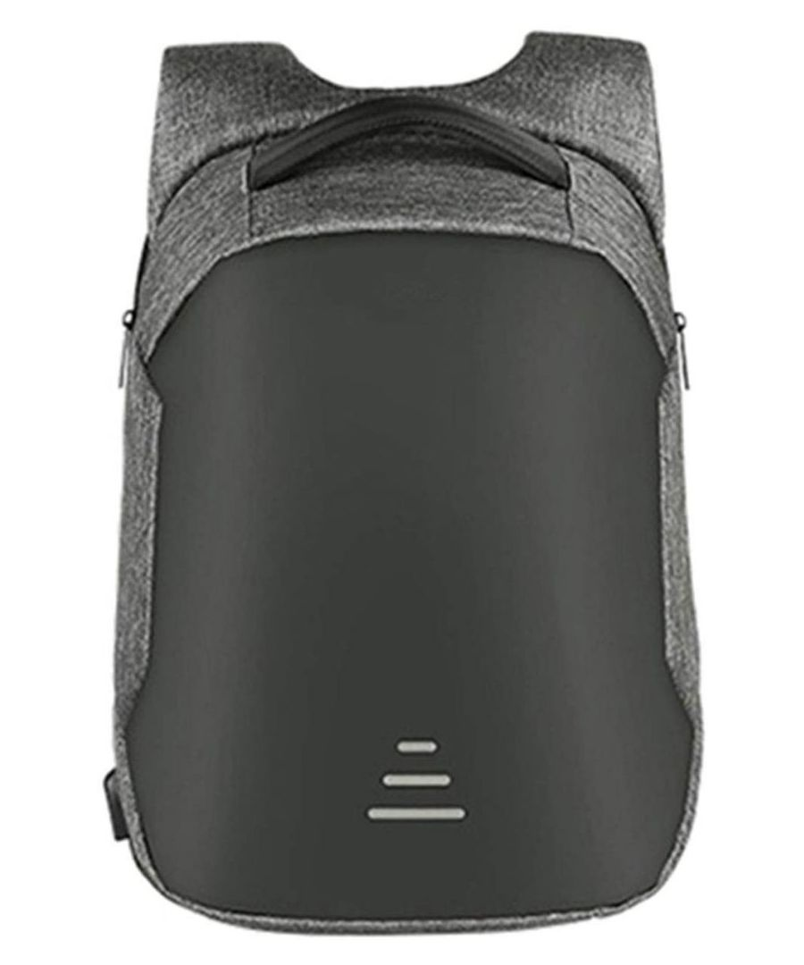 Image for Aquarius Advanced Anti-Theft Backpack with USB Charging Port - Grey