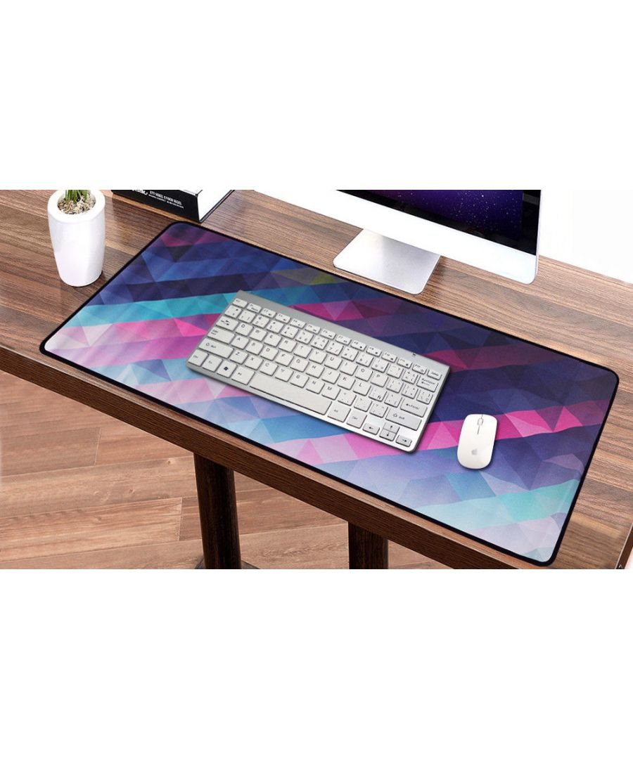 Image for Kaleidoscope Anti-Slip Keyboard Mat Laptop Computer Extended Gaming Mouse Pad