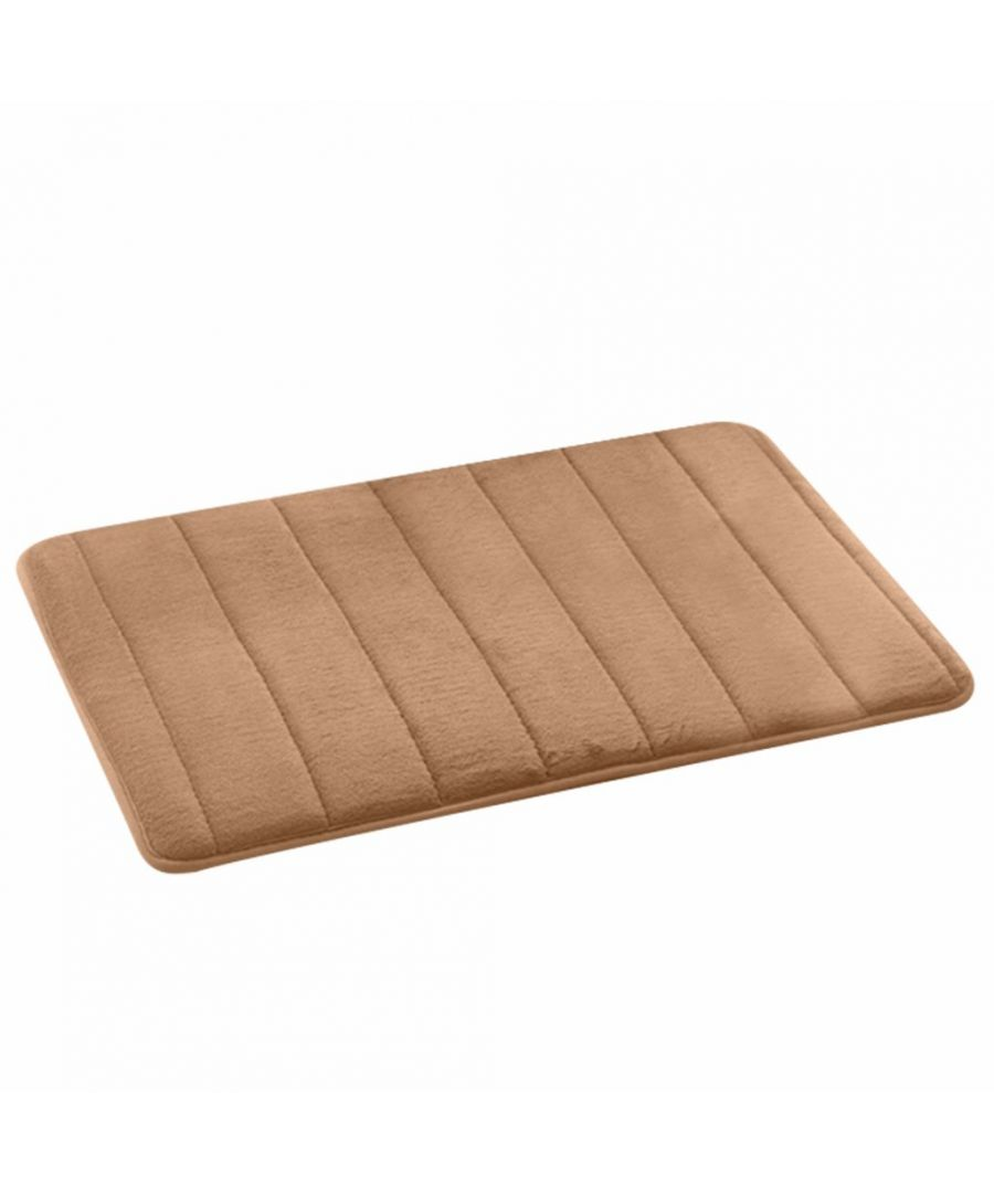 Image for Memory Foam Bath Mat Beige