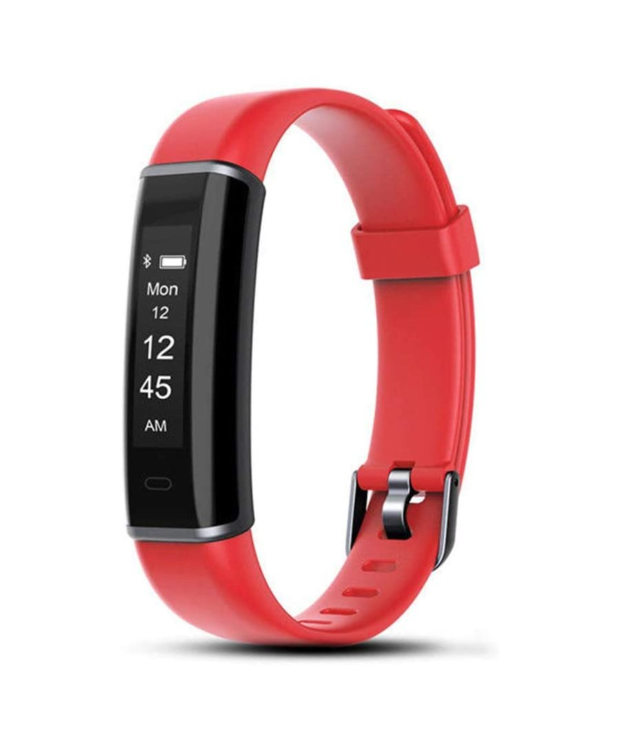 Image for Aquarius AQ113 Waterproof Fitness Activity Tracker Red