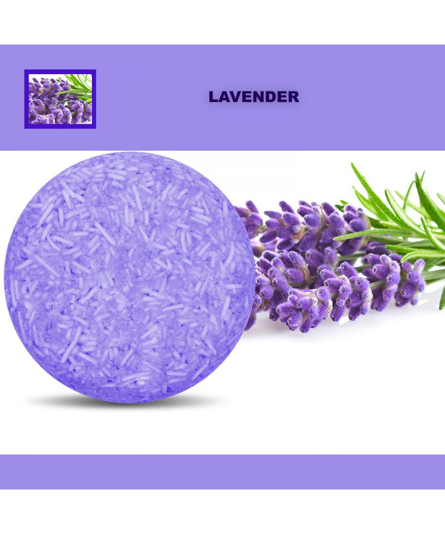 Image for Plant Essence Oil Shampoo & Conditioner Organic Handmade Soap Bar - Lavender