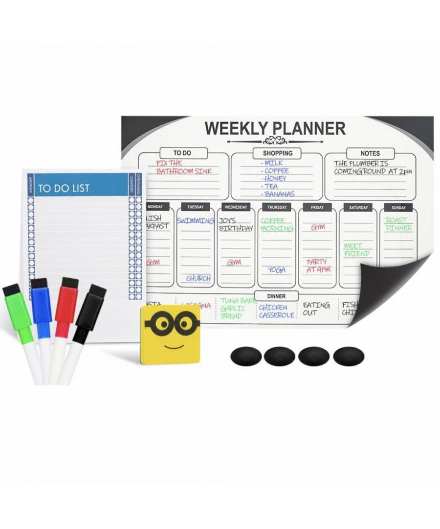 Image for Haven Weekly Planner Whiteboard With Accessories