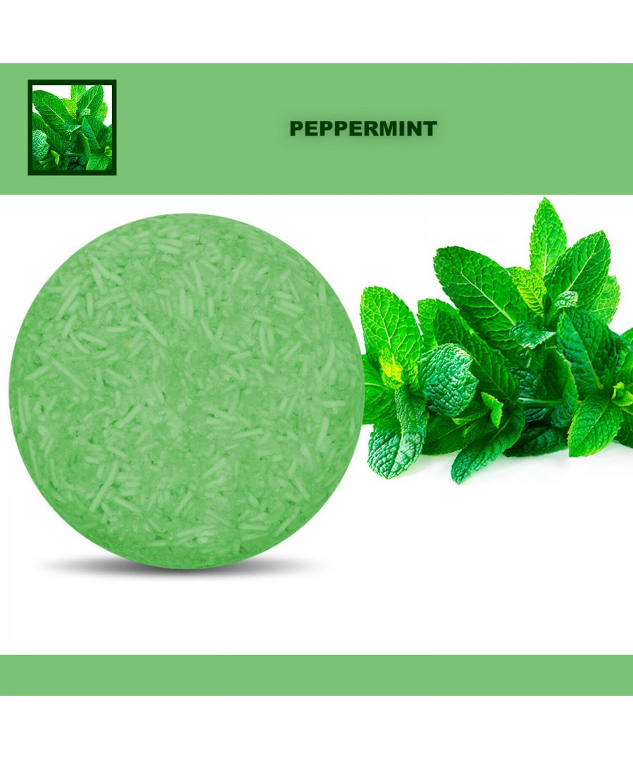 Image for Plant Essence Oil Shampoo & Conditioner Organic Handmade Soap Bar - Peppermint