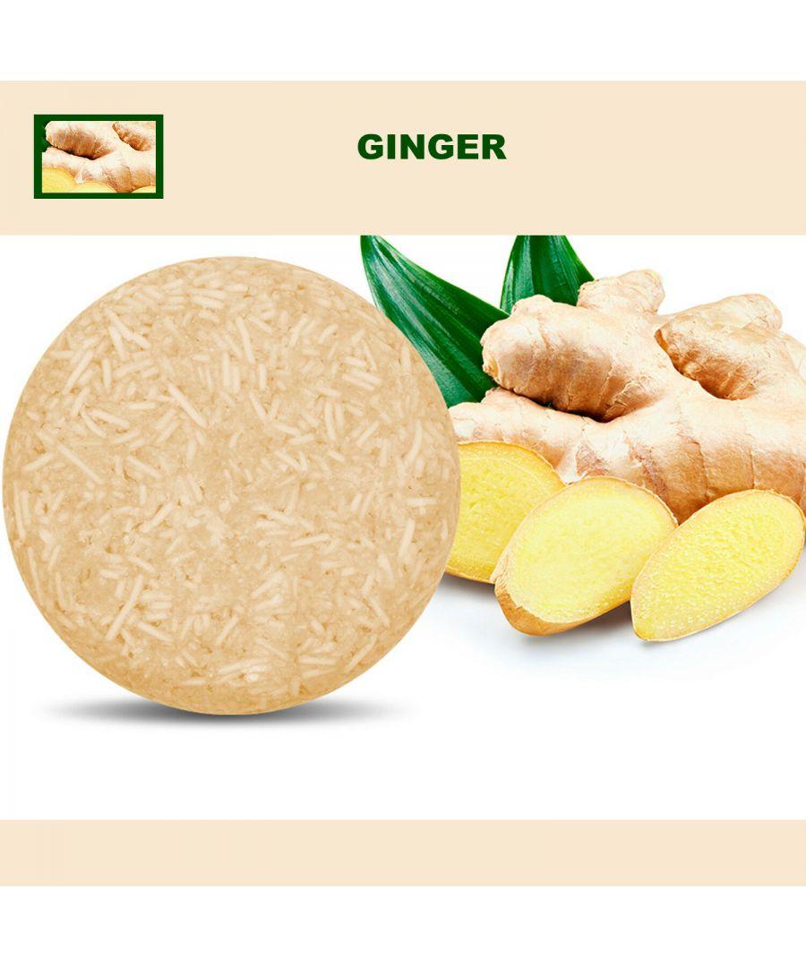 Image for Plant Essence Oil Shampoo & Conditioner Organic Handmade Soap Bar - Ginger