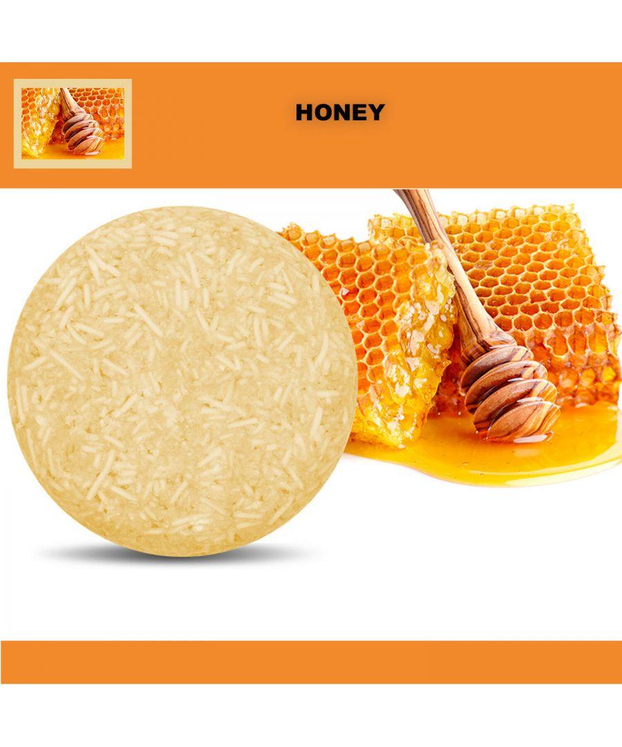 Image for Plant Essence Oil Shampoo & Conditioner Organic Handmade Soap Bar - Honey