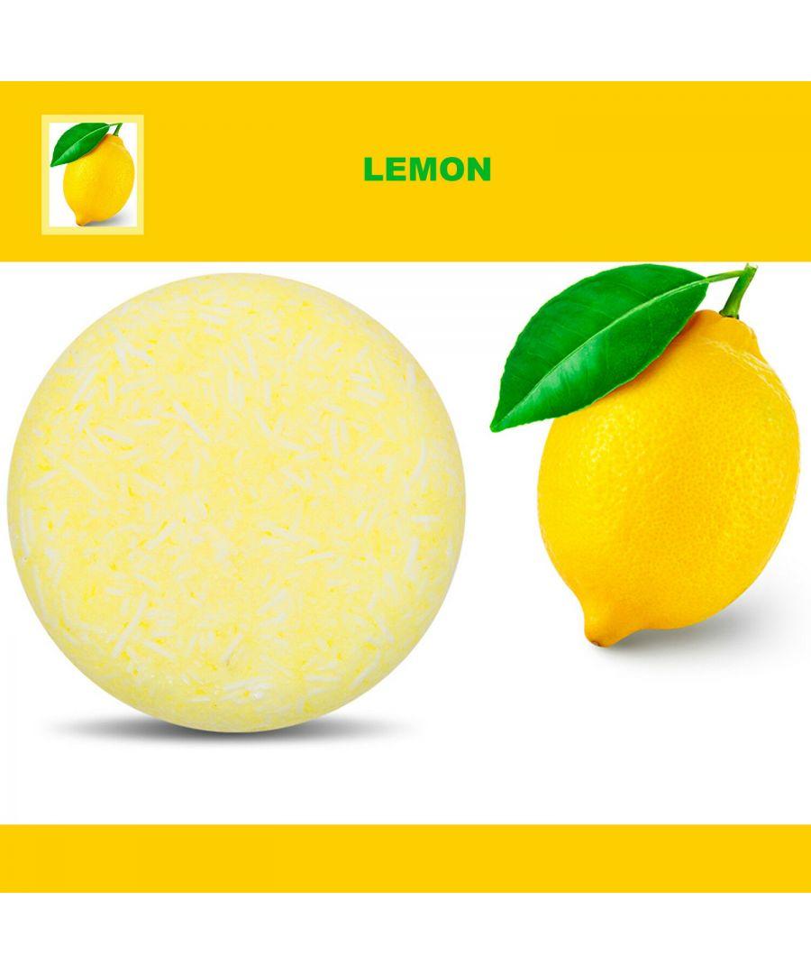 Image for Plant Essence Oil Shampoo & Conditioner Organic Handmade Soap Bar - Lemon