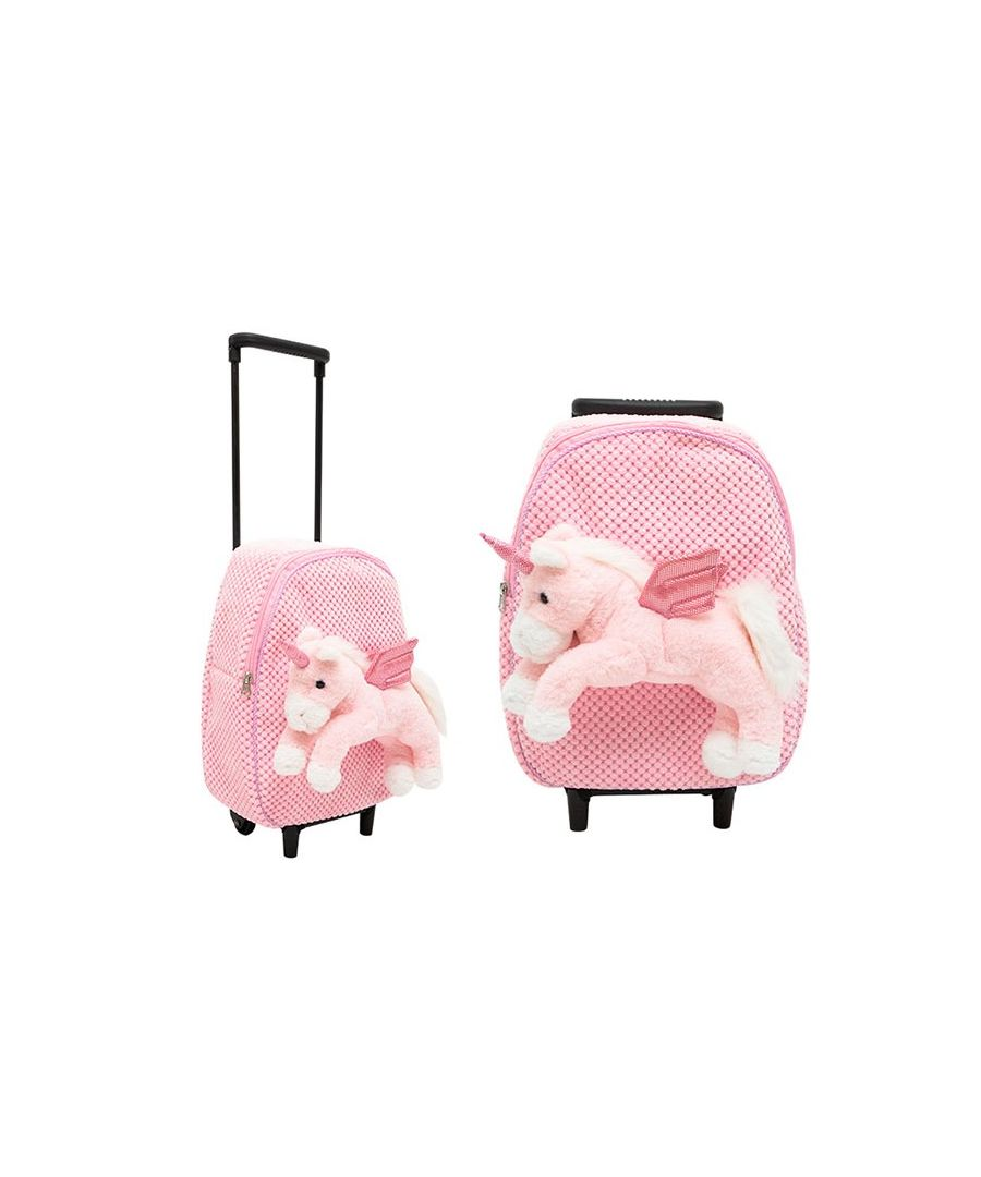 Image for Doodle Kids Unicorn Trolley Bag 12 inch