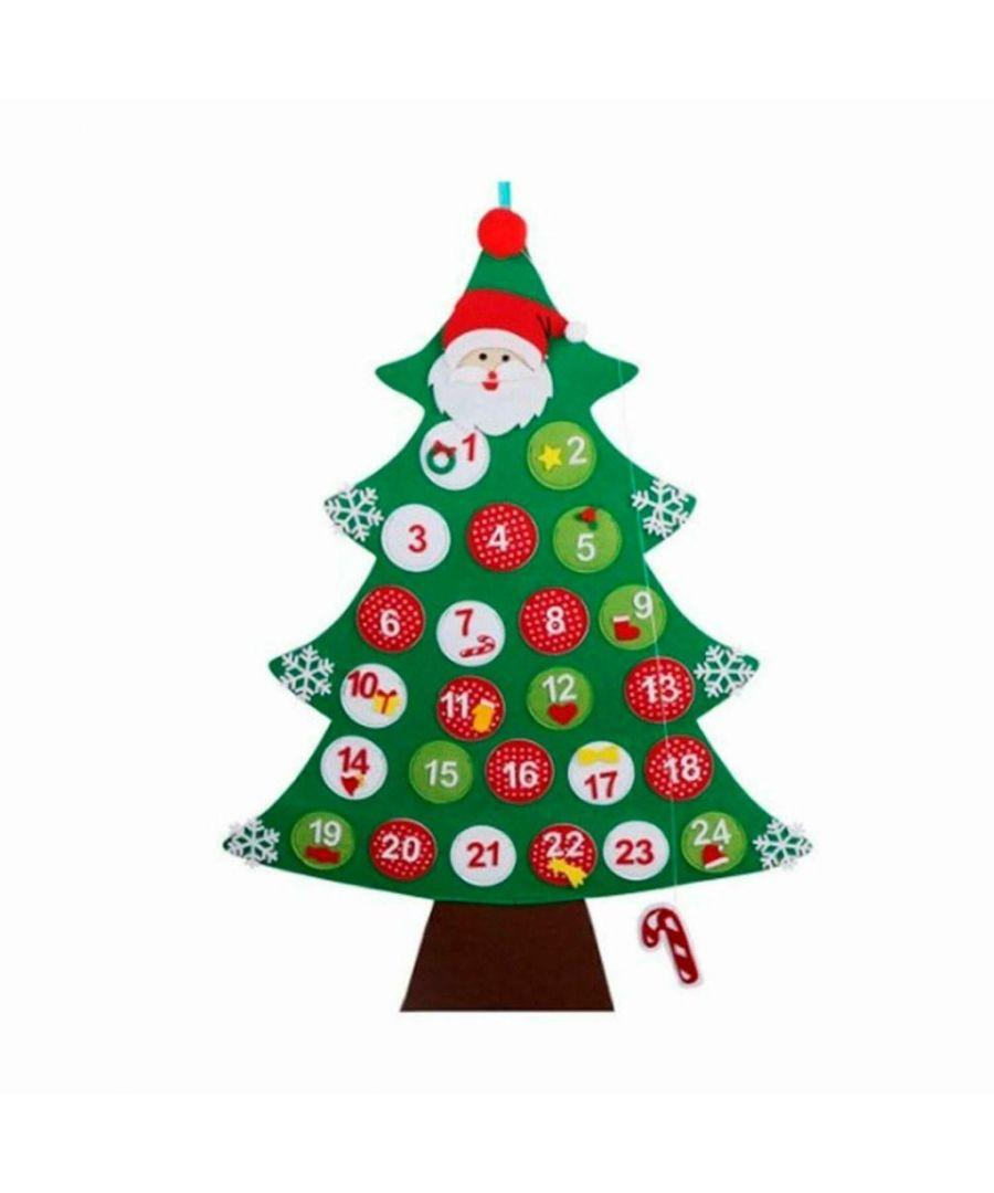 Image for Giant Hanging Christmas Tree Advent Calendar