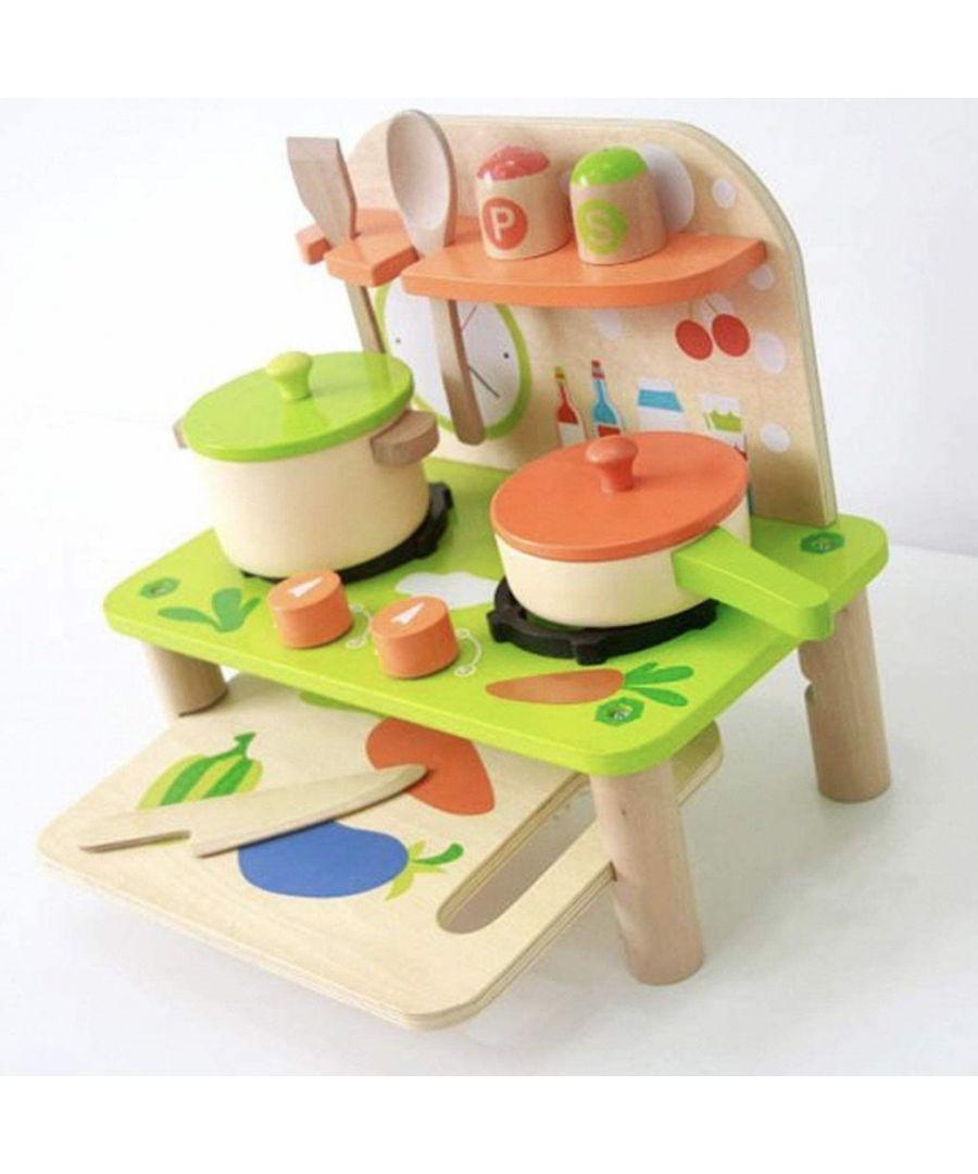 Image for Doodle Wooden Kitchen Set