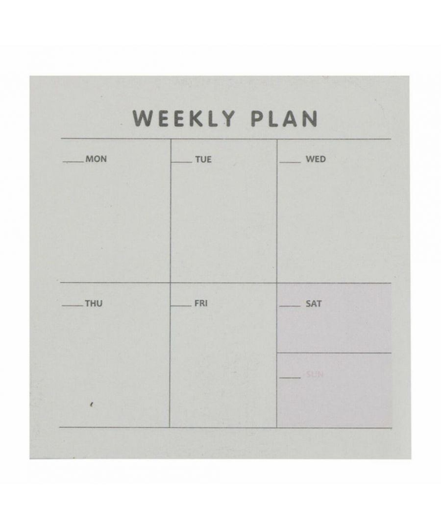Image for Haven Weekly Planner List Pad