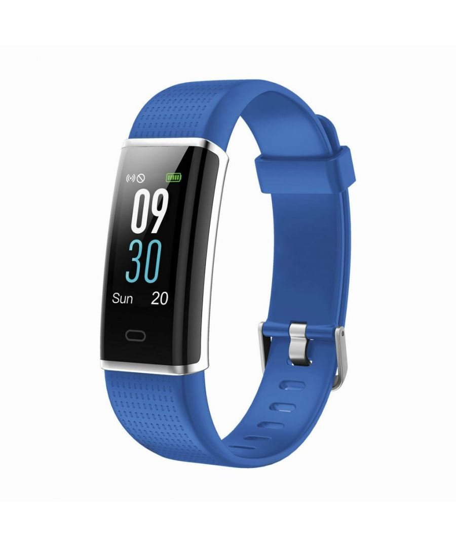 Image for Aquarius AQ200 Multi-Functional Heart Rate & Sleep Monitor Tracker Blue