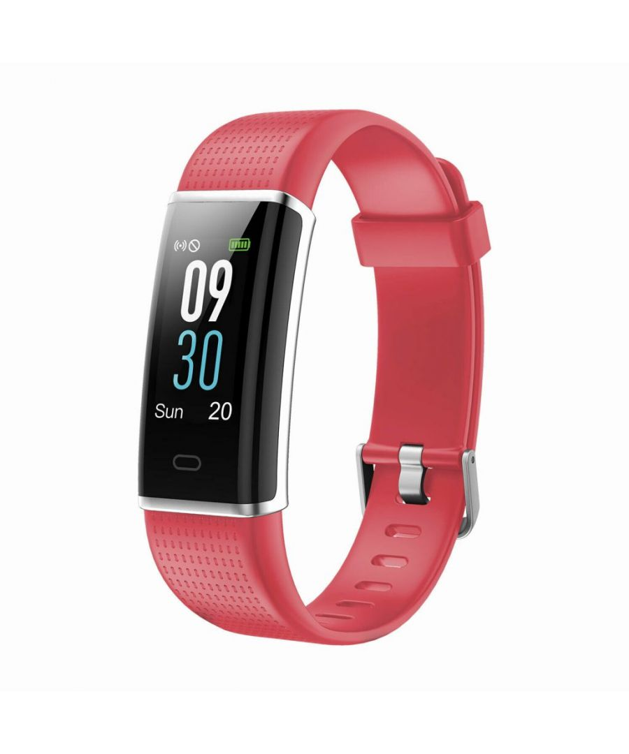 Image for Aquarius AQ200 Multi-Functional Heart Rate & Sleep Monitor Tracker Red