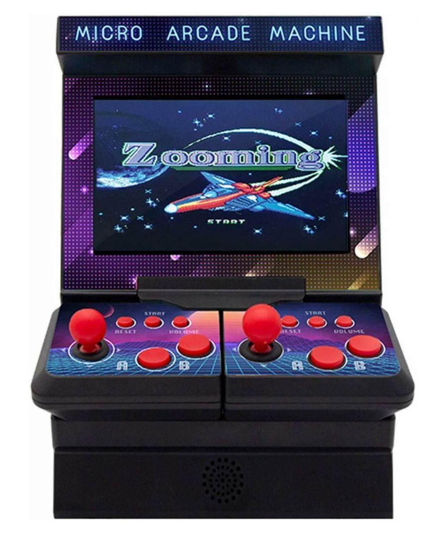 Image for Aquarius 2 Player Arcade Retro Built-in 300 Games Portable Video Game For Kids