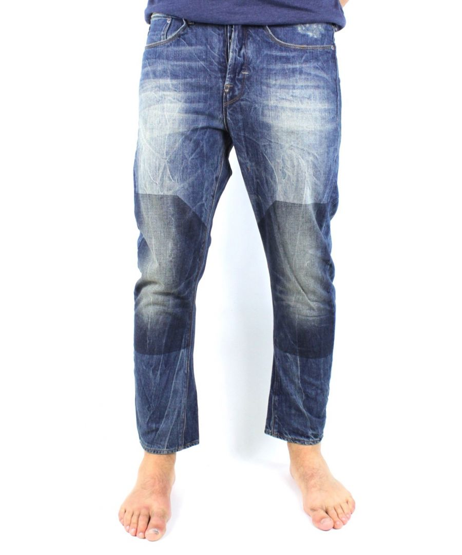Image for G-Star Type C 3D Loose Tapered Block Wash Randwick Denim Jeans