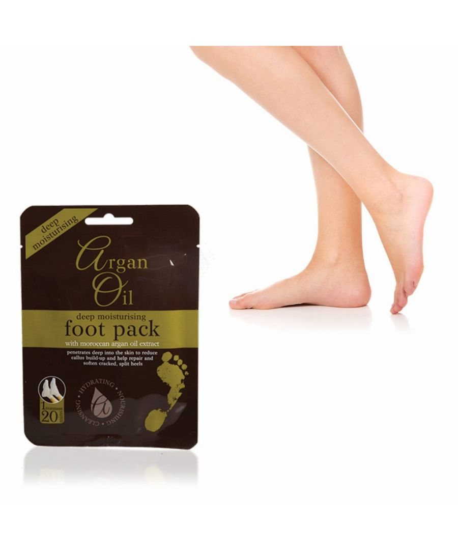 Image for Argan Oil Deep Moisturising Foot Pack 1 Treatment
