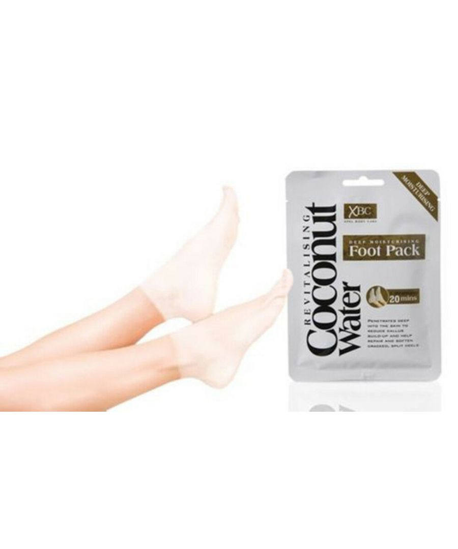 Image for Coconut Water Deep Moisturising Foot Pack 1 Treatment