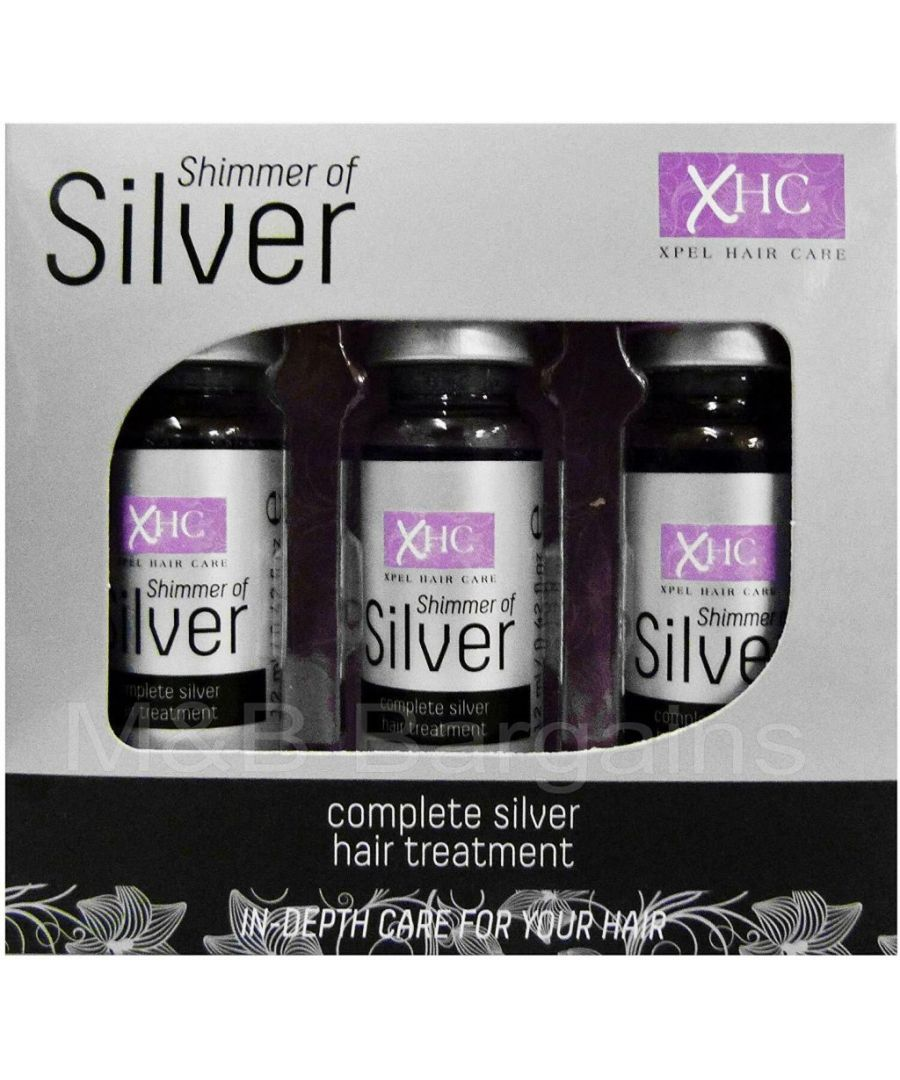Image for Silver Hair Treatment Shots 3 x 12ml