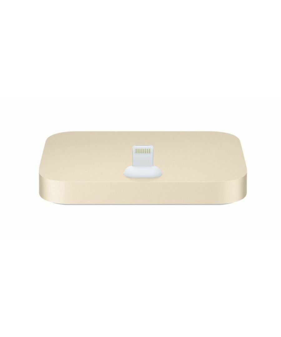 Image for Aquarius Aluminium iPhone Dock Gold