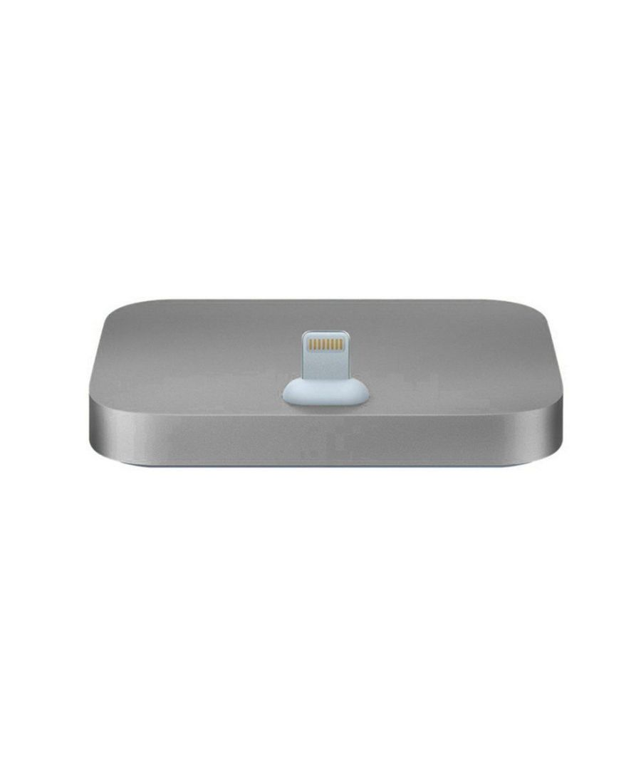Image for Aquarius Aluminium iPhone Dock Space Grey