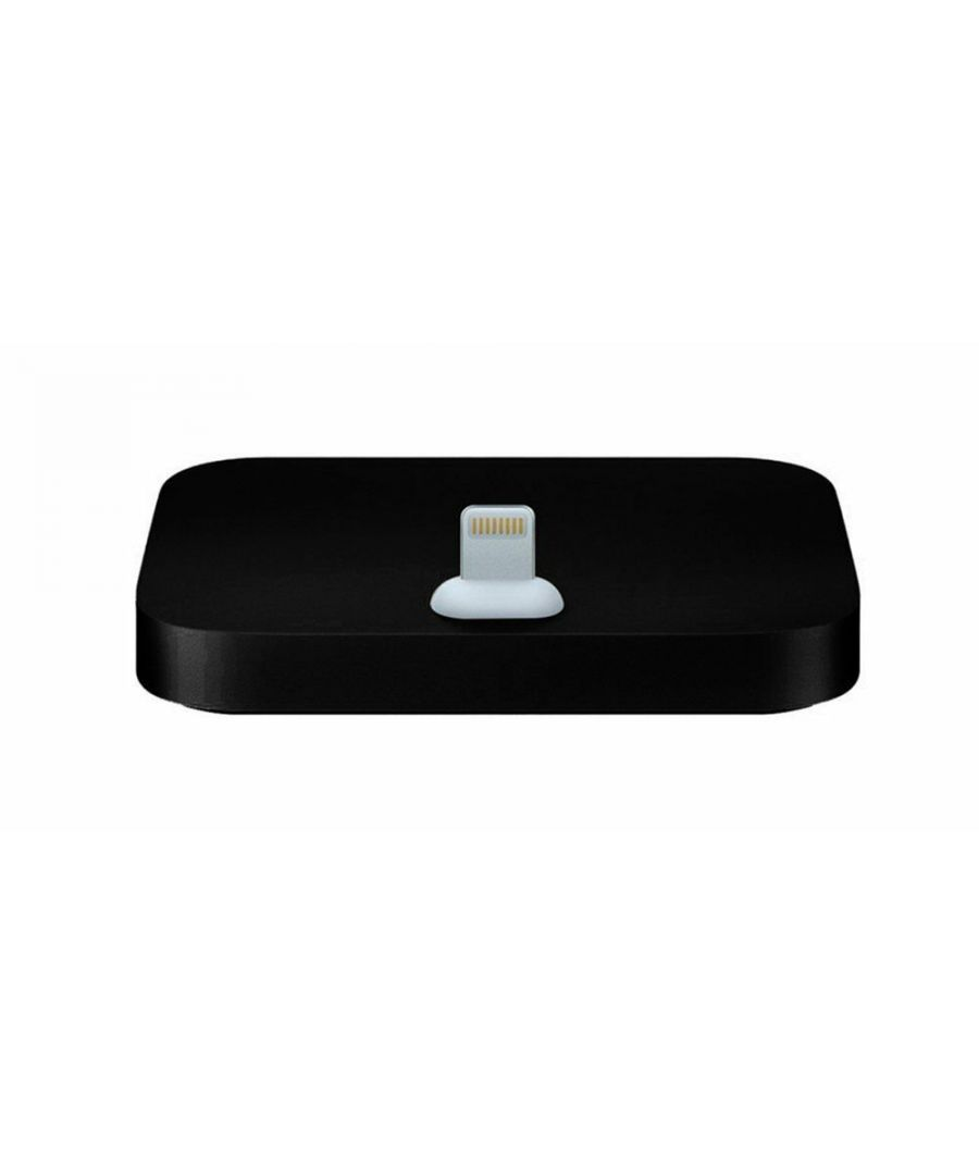 Image for Aquarius Aluminium iPhone Dock Black