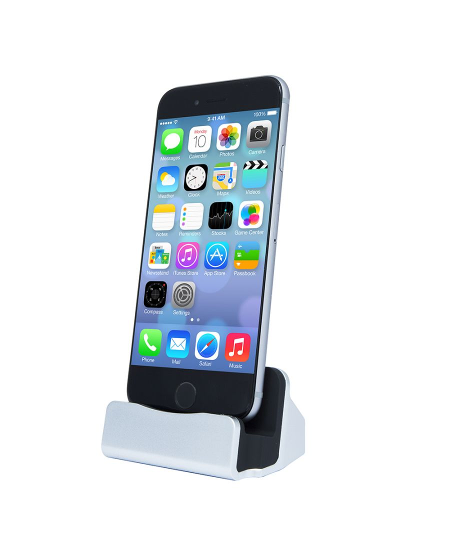 Image for Aquarius Desktop Charging Dock Silver