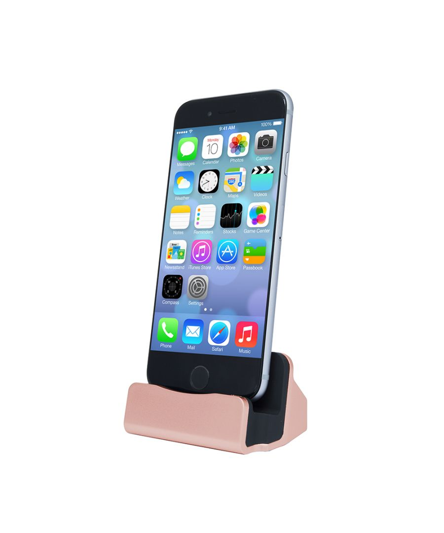 Image for Aquarius Desktop Charging Dock Rose Gold