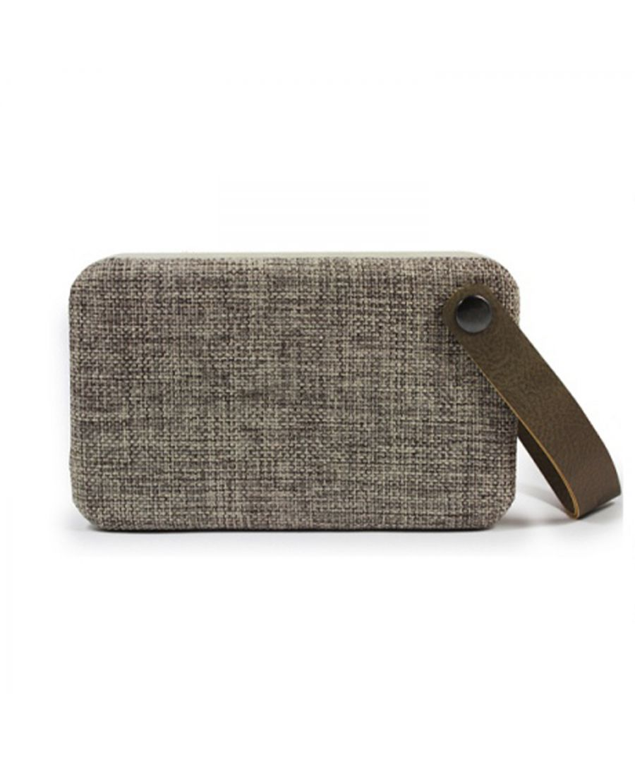Image for Soundz Fabric Bluetooth Speaker SZ300 Brown