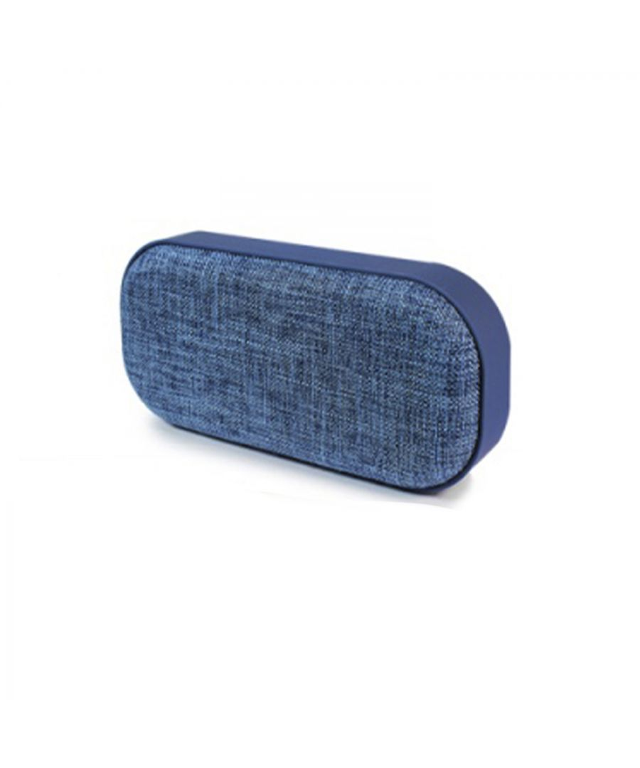 Image for Soundz Fabric Bluetooth Speaker SZ260 Blue