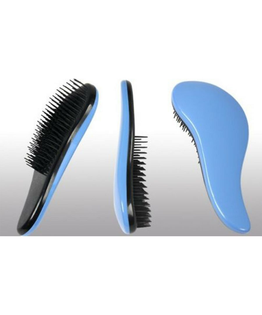 Image for Detangling Hair Brush - Reduces Hair Breakage, Split Ends & Damage, Blue