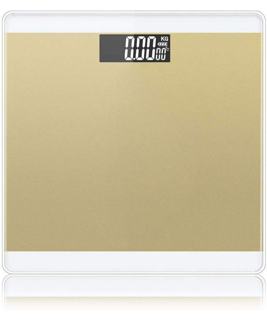 Image for  3 in 1 Digital Bathroom Scale - Gold