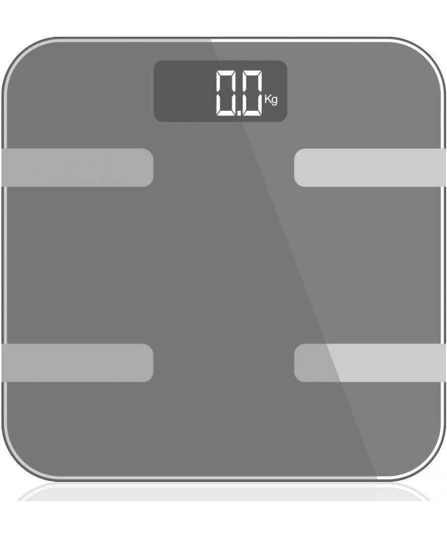 Image for 9 in 1 Digital Bathroom Scale - Silver