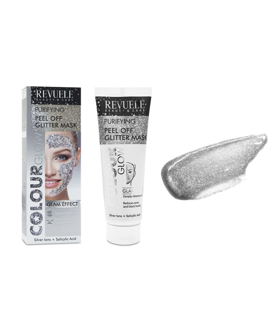Image for Revuele Regenerating Silver Glitter Peel Off Mask - Pack of 2