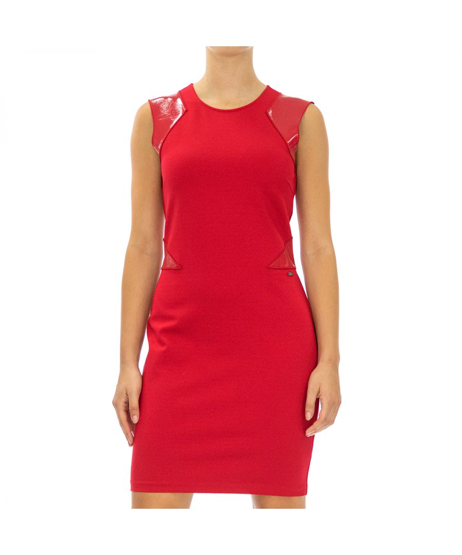 Image for Armani Exchange Women's Sleeveless Dress in Red